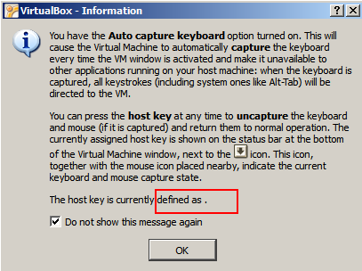 how to use mouse to get shortcut to virtual keyboard