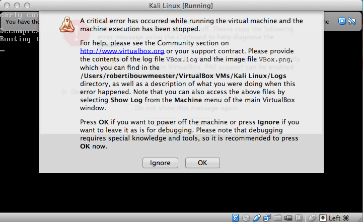 virtualbox guru