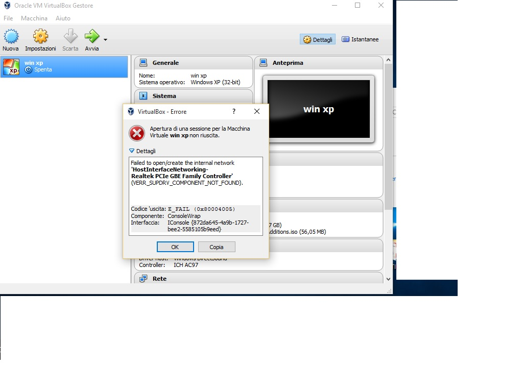 14437 (VirtualBox can't find host-only adapters on Windows