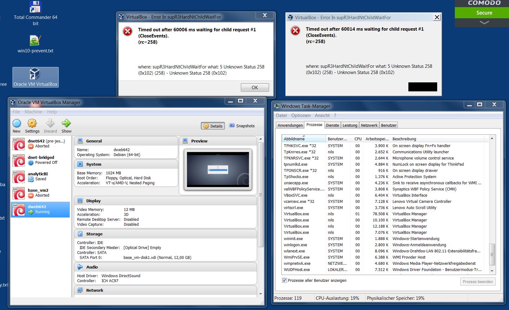 virtualbox 5.0.10