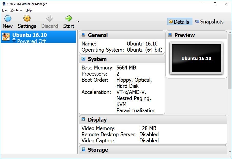 16220 (Improper font scaling in VB Manager) – Oracle VM VirtualBox