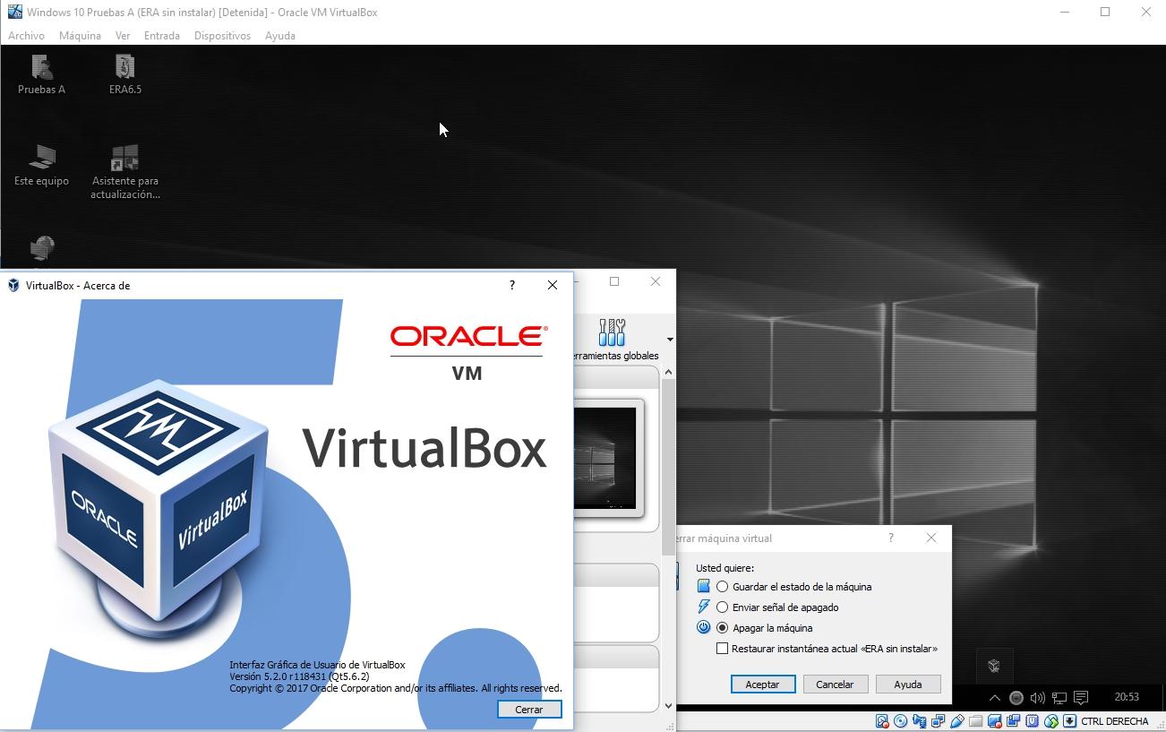 17182 (Black screen on Windows10 host vm 5 2 0) – Oracle VM VirtualBox