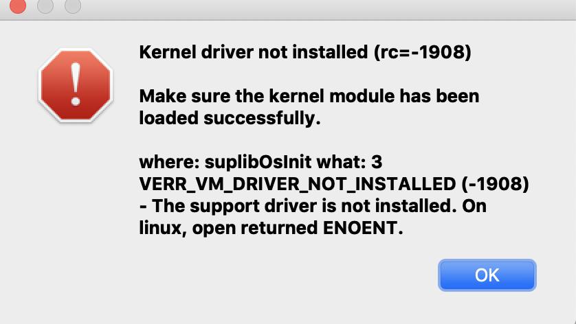 18074 (Installation error on macOS Mojave) – Oracle VM VirtualBox
