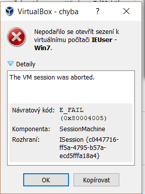 18265 (Win7 in VB 6 0 0 fails on resume on 97% => Fixed in