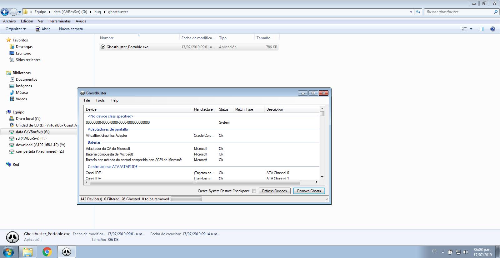 18766 (6 0 10 r132072 crashes Windows VM when Shared Folders