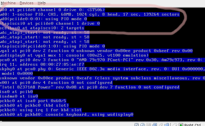 192 (OpenBSD reports full disk on install (requires VT-x or AMD-V