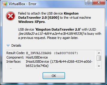 3895 (USB Auto detection does not work) – Oracle VM VirtualBox