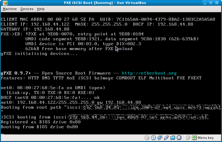 how to stop pxe rom