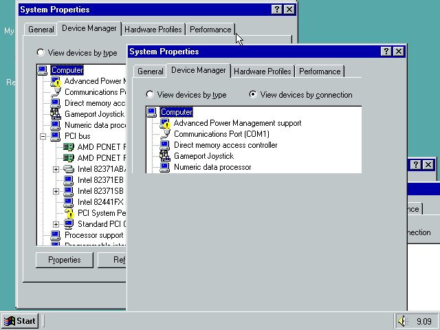 7364 (Windows 98 SE crashes very frequently (triple fault