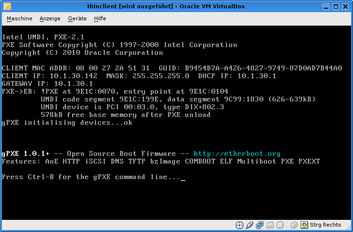 9941 (fixed in svn: pxe boot fails if vt-x/amd-v is enabled